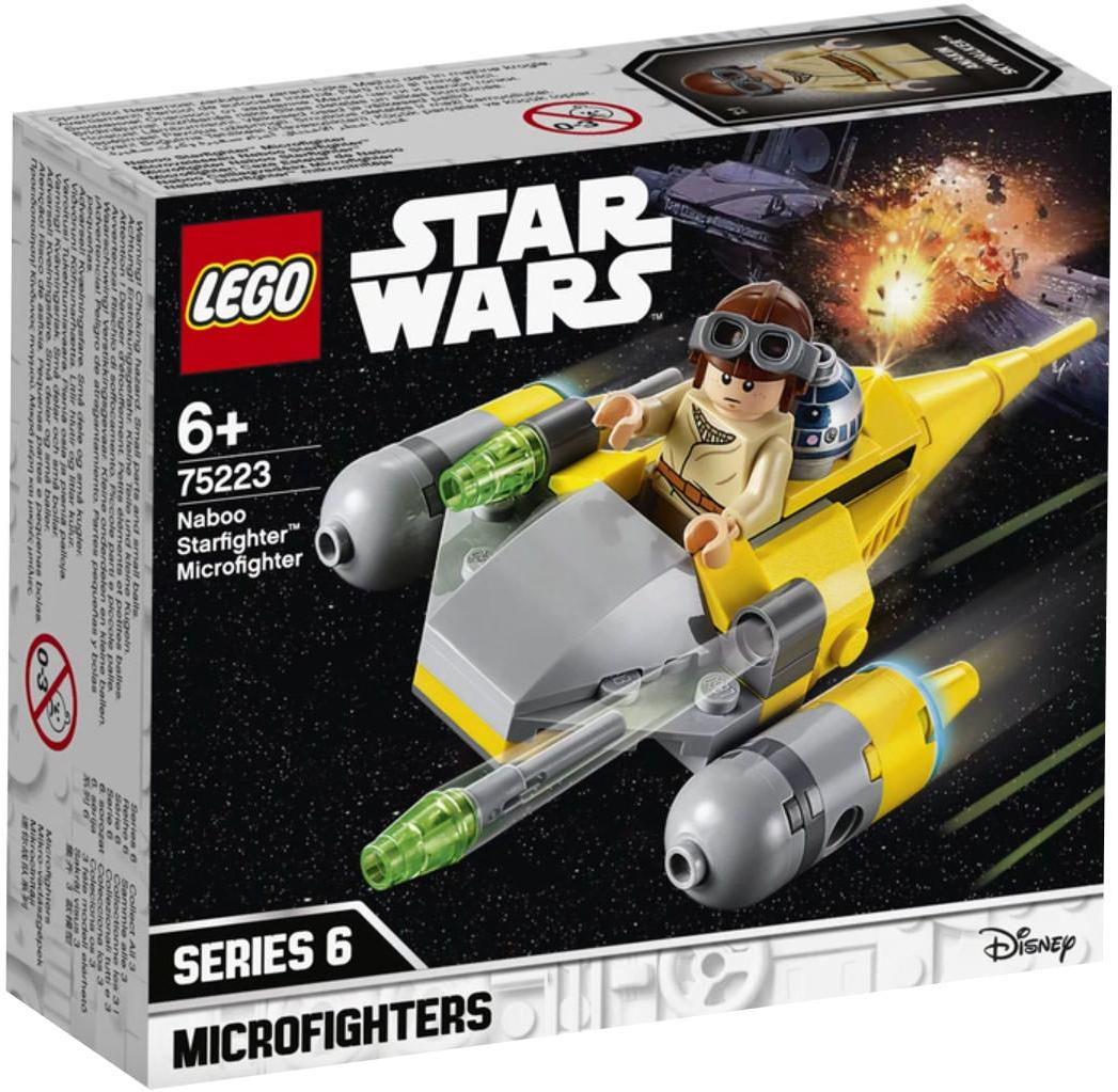 75223 Naboo Starfighter Microfighter Box Front Cover