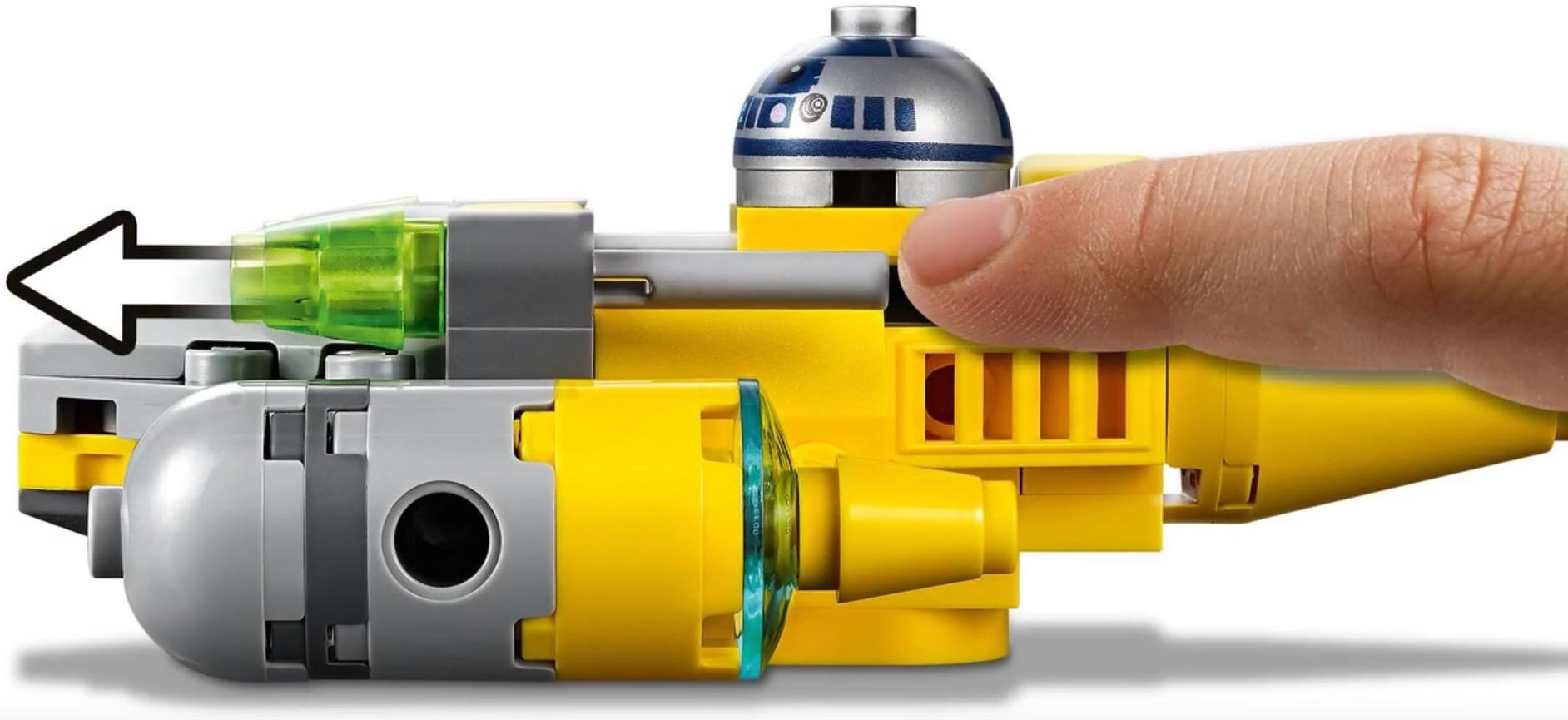 75223 Naboo Starfighter Microfighter Playable Functions