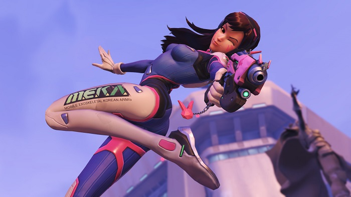D. Va In-Game Costume