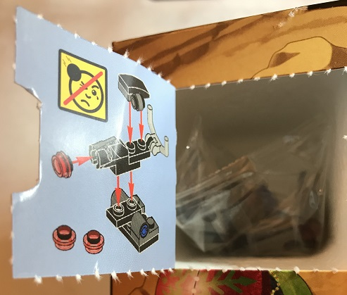 Day 10 Window Opened - Turret - LEGO 75213 Star Wars Advent Calendar 2018 Review