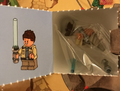 Day 11 Window Opened - Rowan Minifigure - LEGO 75213 Star Wars Advent Calendar 2018 Review