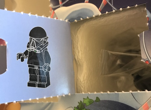 Day 15 Window Opened - Imperial Death Trooper Minifigure - LEGO 75213 Star Wars Advent Calendar 2018 Review