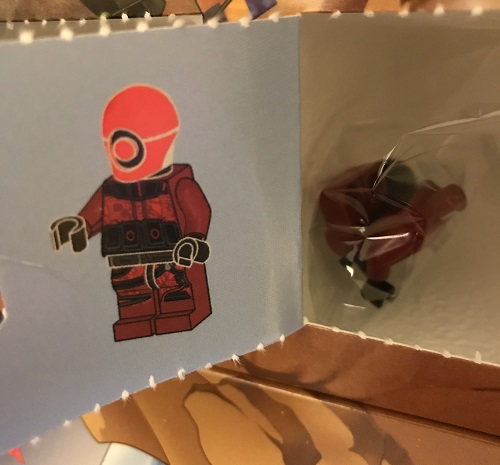 Day 17 Window Opened - Guavian Security Guard Minifigure - LEGO 75213 Star Wars Advent Calendar 2018 Review
