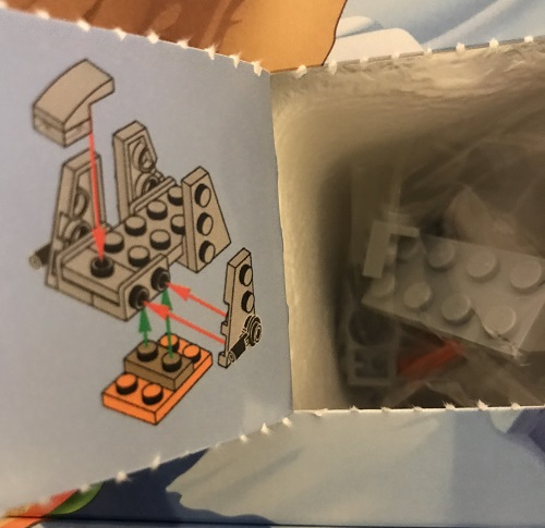 Day 20 Window Opened - Zeta Class Shuttle - LEGO 75213 Star Wars Advent Calendar 2018 Review
