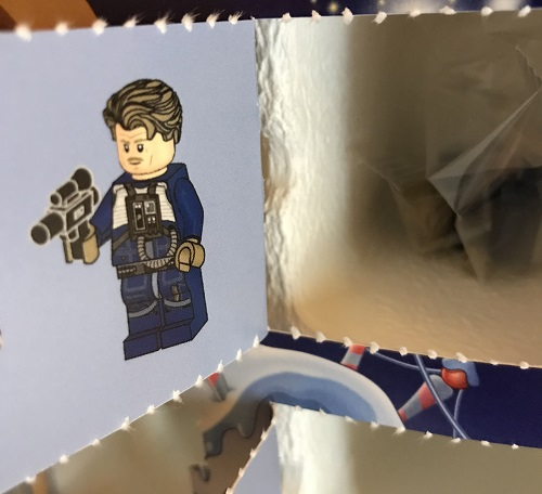 Day 23 Window Opened - Antoc Merrick Minifigure - LEGO 75213 Star Wars Advent Calendar 2018 Review