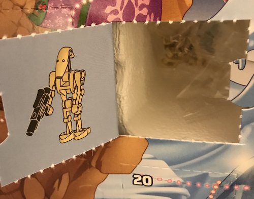 Day 8 Window Opened - Battle Droid Minifigure - LEGO 75213 Star Wars Advent Calendar 2018 Review
