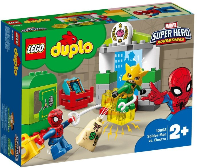 LEGO 10383 Spider-Man vs. Electro Set Box Front Cover