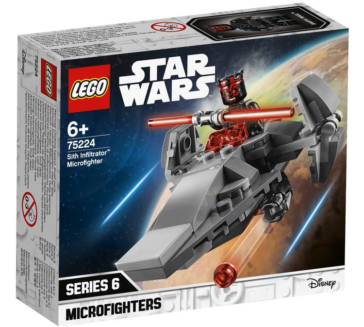 LEGO 75224 Sith Infiltrator Microfighter Box Front Cover