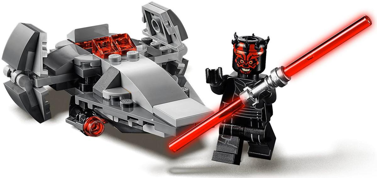 LEGO 75224 Sith Infiltrator Microfighter Darth Maul Minifigure and Build 2