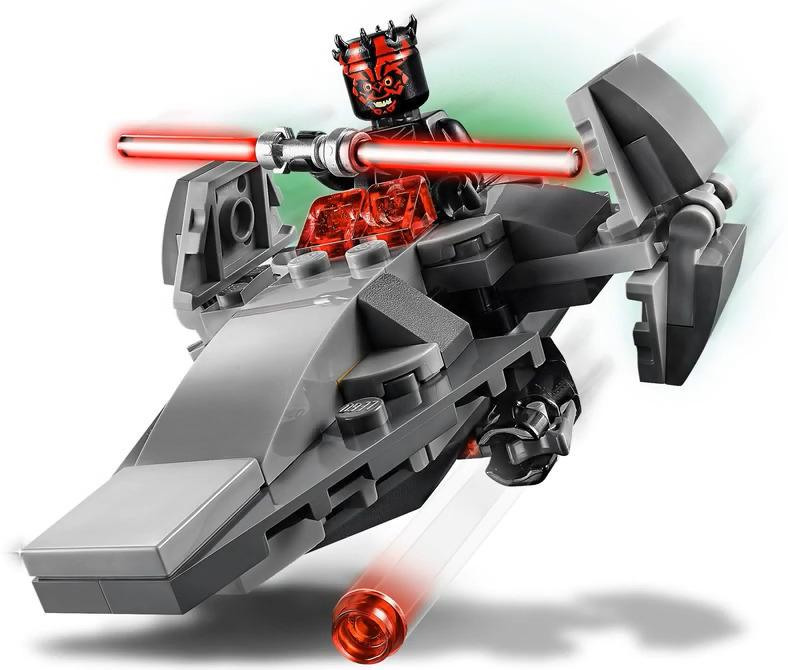 LEGO 75224 Sith Infiltrator Microfighter Darth Maul Minifigure and Build Playable Functions
