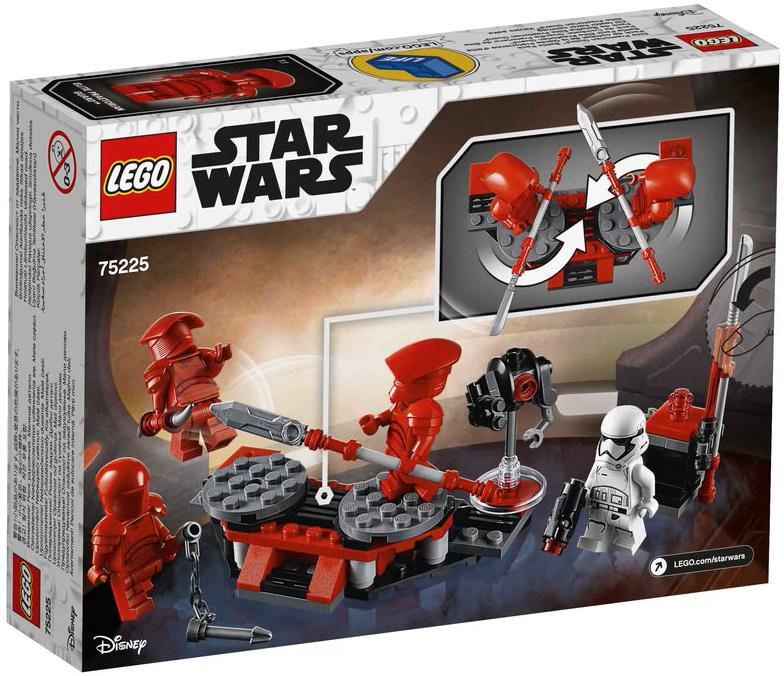 LEGO 75225 Elite Praetorian Guard Battle Pack Box Back Cover