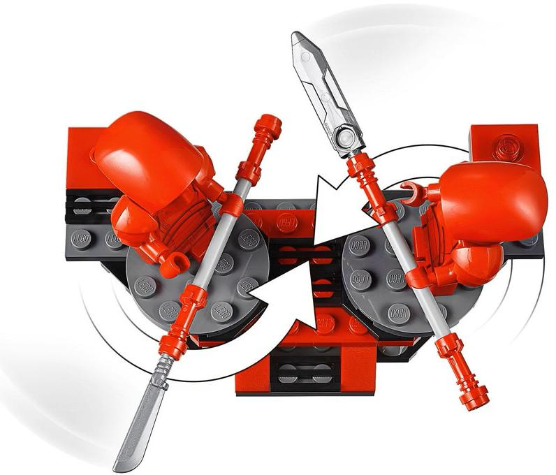 LEGO 75225 Elite Praetorian Guard Battle Pack Playable Functions