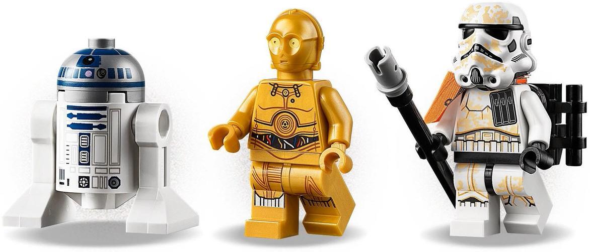 LEGO 75228 Escape Pod vs Dewback Microfighters Minifigures