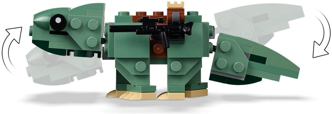 LEGO 75228 Escape Pod vs Dewback Microfighters Playable Functions
