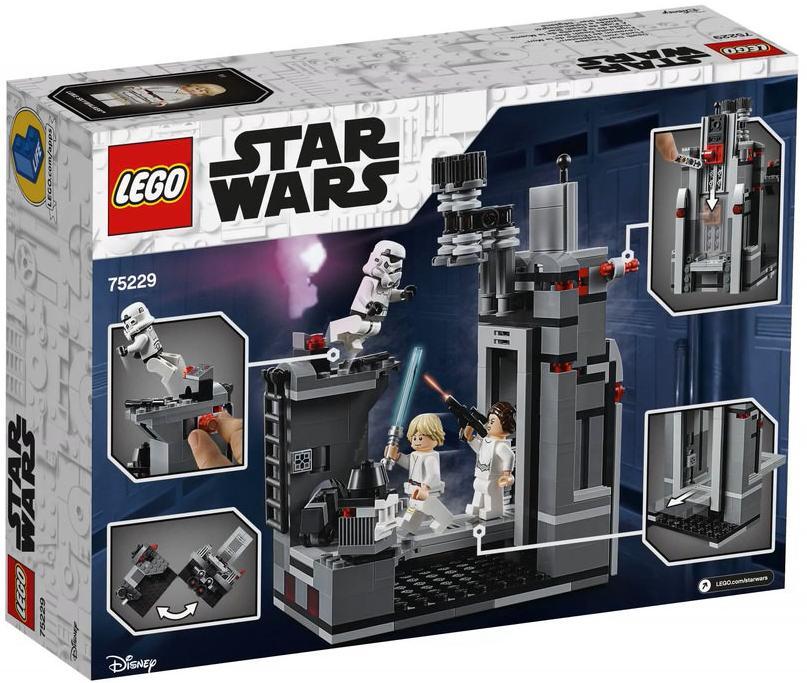 LEGO 75229 Death Star Escape Box Back Cover