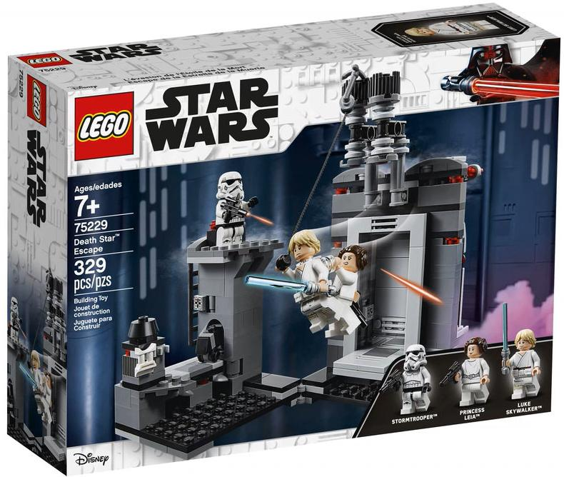 LEGO 75229 Death Star Escape Box Front Cover