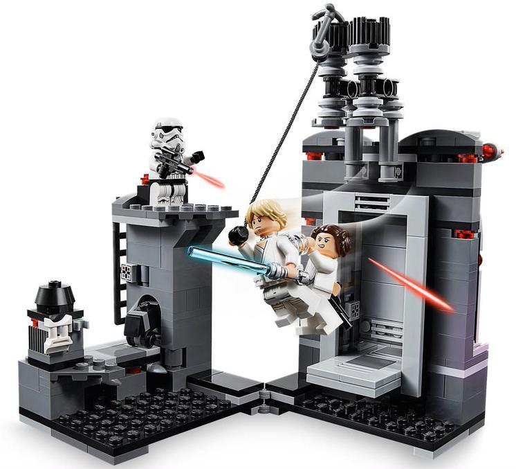 LEGO 75229 Death Star Escape Build
