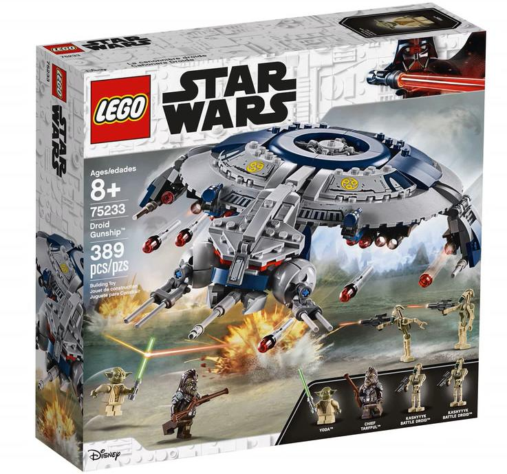LEGO 75233 Droid Gunship Box Front Cover