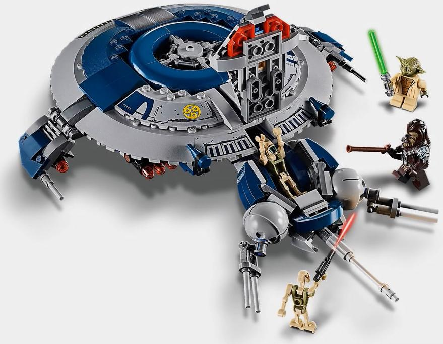 LEGO 75233 Droid Gunship Build