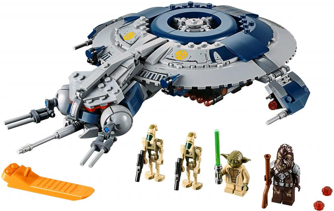 LEGO 75233 Droid Gunship Set Contents