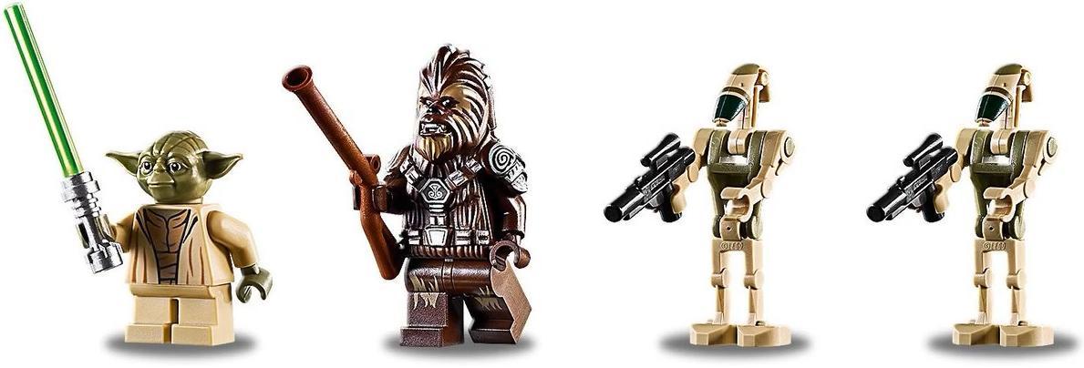 LEGO 75233 Droid Gunship Minifigures