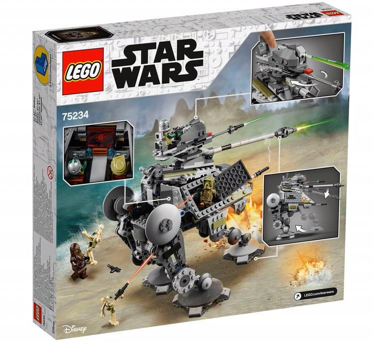 LEGO 75234 AT-AP Walker Box Back Cover