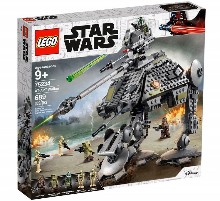 LEGO 75234 AT-AP Walker Box Front Cover