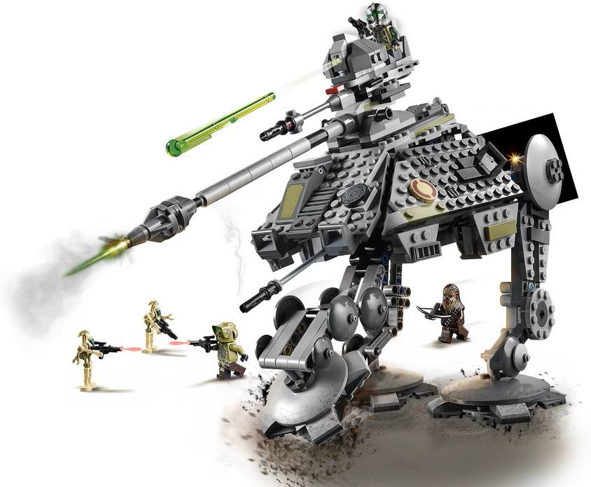 LEGO 75234 AT-AP Walker Build