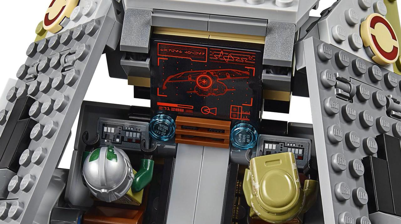 LEGO 75234 AT-AP Walker Interior