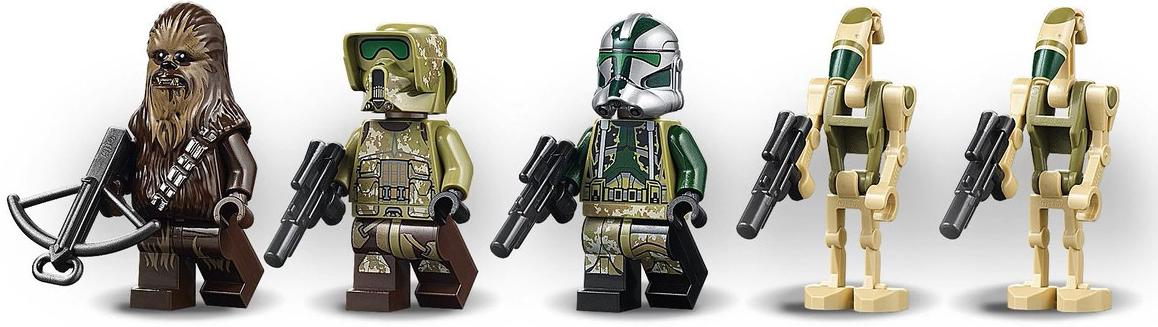 LEGO 75234 AT-AP Walker Minifigures
