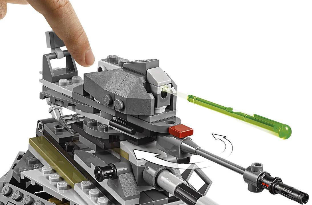 LEGO 75234 AT-AP Walker Playable Functions 2