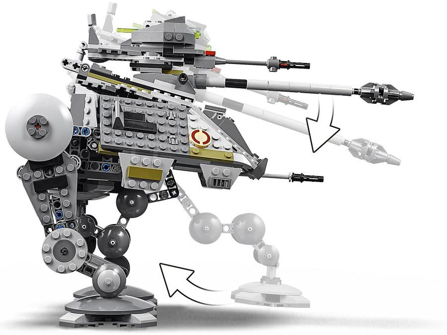 LEGO 75234 AT-AP Walker Playable Functions