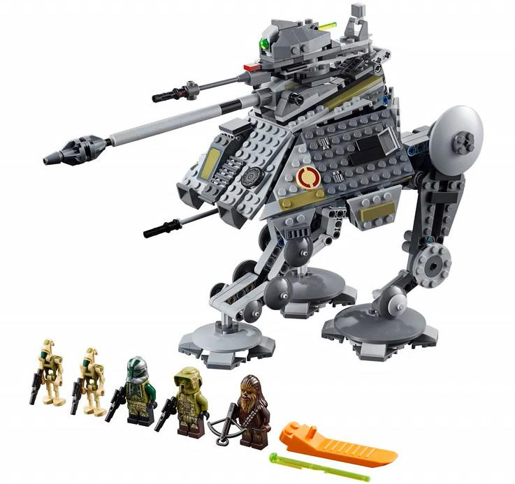 LEGO 75234 AT-AP Walker Set Contents