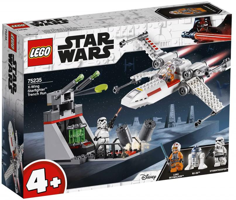 LEGO 75235 X-wing Starfighter Trench Run Box Front Cover