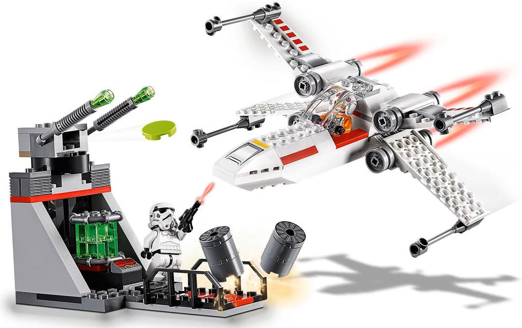 LEGO 75235 X-wing Starfighter Trench Run Playable Functions