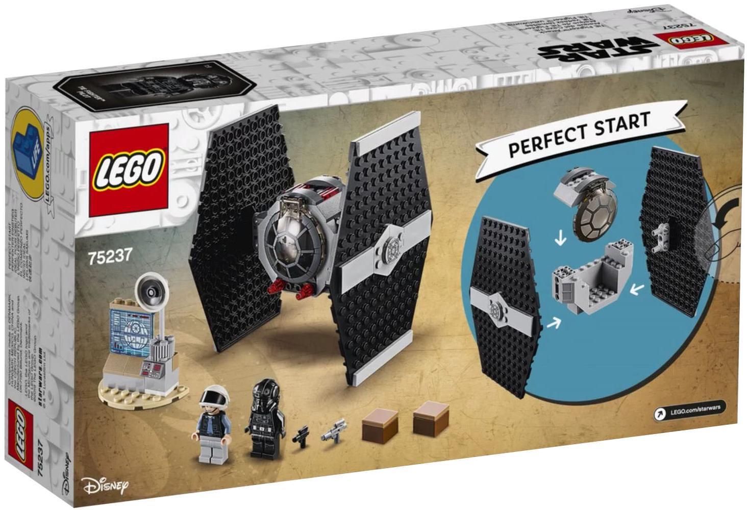 LEGO 75237 TIE Fighter Attack Box Back Cover