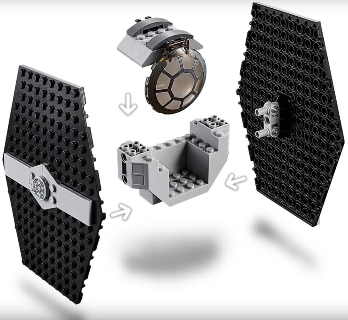 LEGO 75237 TIE Fighter Attack Build