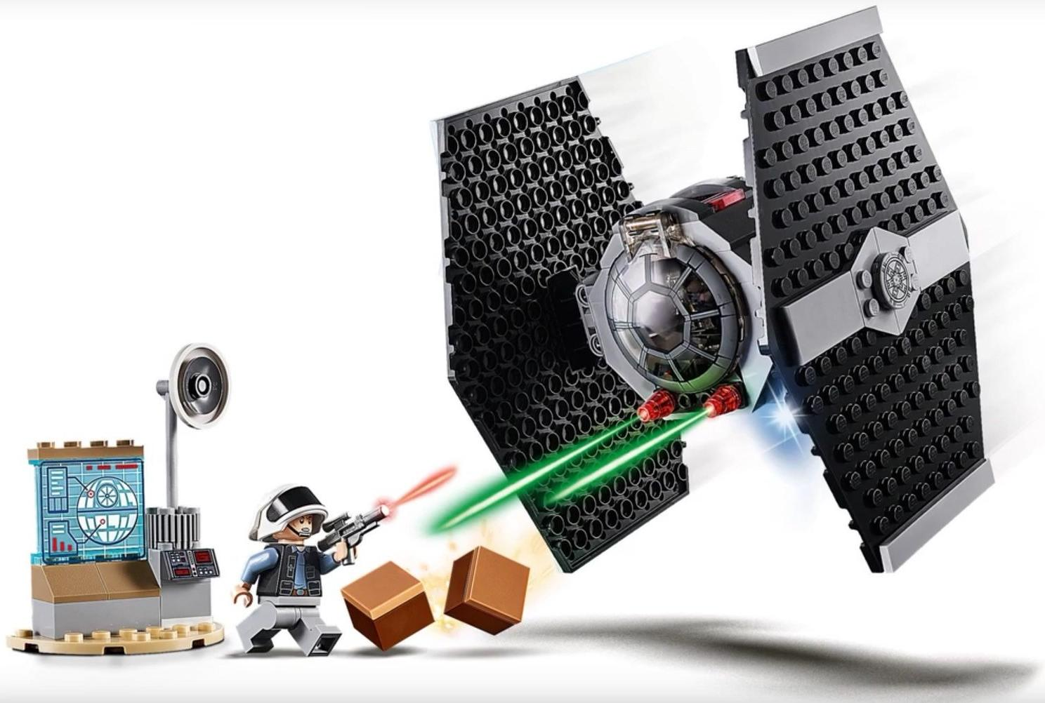 LEGO 75237 TIE Fighter Attack Playable Functions