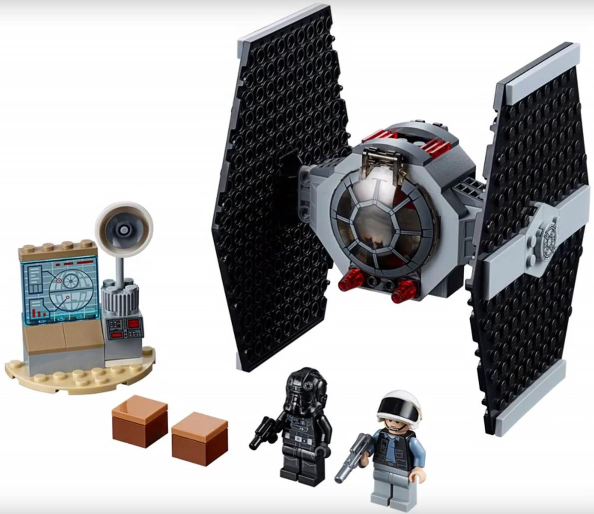 LEGO 75237 TIE Fighter Attack Set Contents