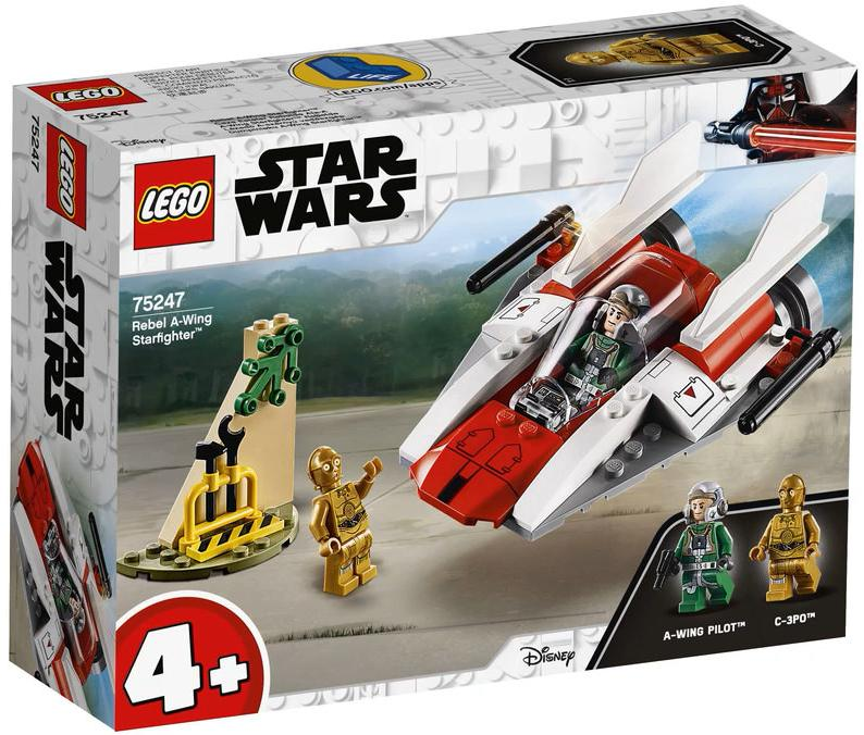 LEGO 75247 Rebel A-wing Starfighter Box Front Cover