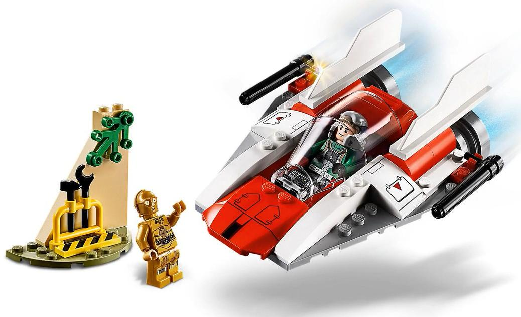 LEGO 75247 Rebel A-wing Starfighter Builds