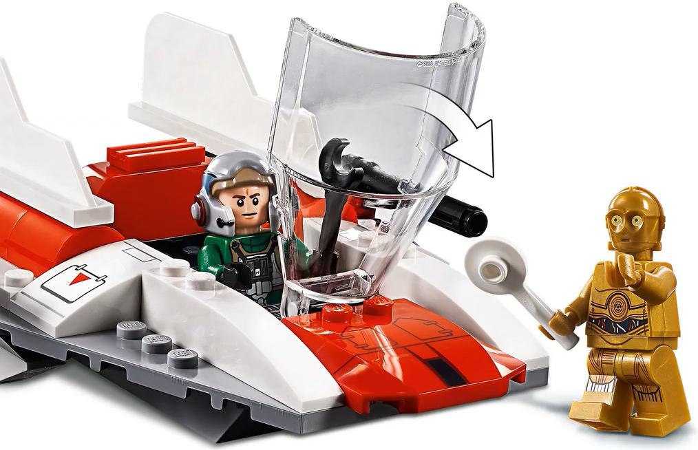 LEGO 75247 Rebel A-wing Starfighter Playable Functions 2