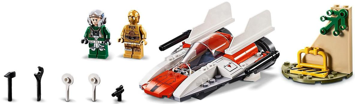LEGO 75247 Rebel A-wing Starfighter Set Contents 2