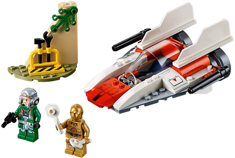 LEGO 75247 Rebel A-wing Starfighter Set Contents