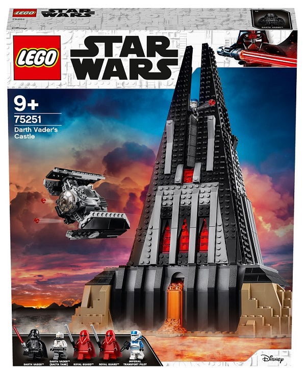 LEGO 75251 Darth Vader's Castle Box Front Cover