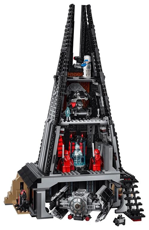 LEGO 75251 Darth Vader's Castle Build 2
