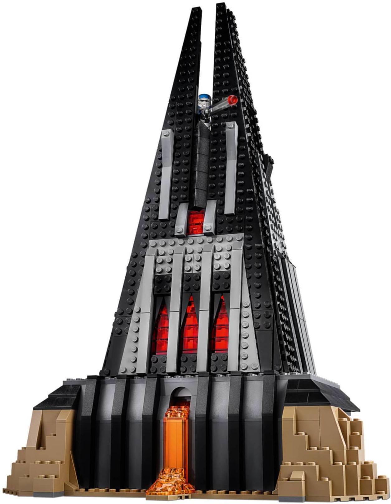 LEGO 75251 Darth Vader's Castle Build