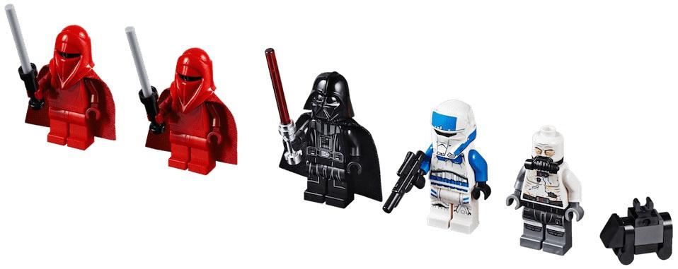 LEGO 75251 Darth Vader's Castle Minifigures