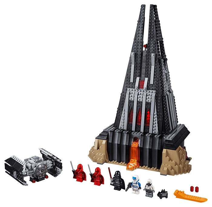 LEGO 75251 Darth Vader's Castle Set Contents