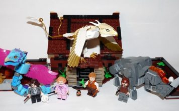 LEGO 75952 Newt´s Case of Magical Creatures Fantastic Beasts Set Review